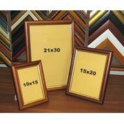 Планки и рамы деревянные отделочные багеты фото