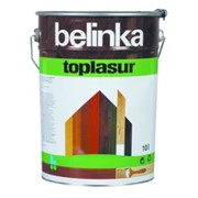 Декоративная краска-лазур Belinka Toplasur 10 л. №17 Тик Артикул 51517 фото