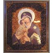 Иконы из янтаря фото