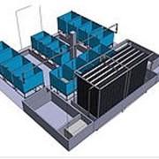 Универсальный рыбоводный модуль для интенсивного разведения рыбы с большой плотностью посадки на ограниченных производственных площадях. фото