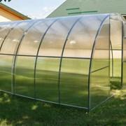 Теплица Урожай Сотка 8м труба 25х25