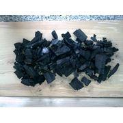 Древесный берёзовый уголь фото