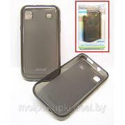 Силиконовый чехол Jekod для Samsung Galaxy GT-I8160 + плёнка чёрный фото