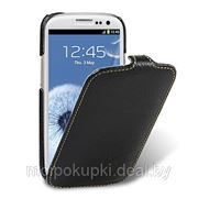 Чехол футляр-книга Melkco для Samsung GT-I9300 Galaxy S III черный фото