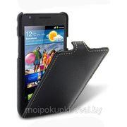 Чехол футляр-книга Melkсo для Samsung GT-I9100 Galaxy S II чёрный фото