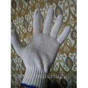 Рабочие перчатки 4нитка 7,5кл. х/б фото