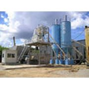 Завод по производству бетона фото