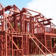 Строительство деревянно-каркасных домов фото