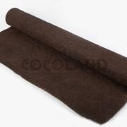 Кокосовое волокно в полотне 1х2м (коричневый) фото