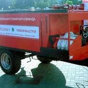 Модуль пожарный прицепной фото