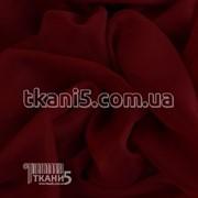 Ткань Вуаль - шифон ( марсала ) 3248 фото