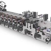 Флексографическая печатная машина 4-5 секций, Оборудование для флексографической печати фото