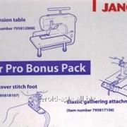 Расширенный комплект для распошивальных машин Janome CoverPro фото