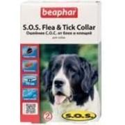Ошейник S.O.S. Beaphar Биофар инсектоакарицидный для собак на 8 мес., 70 см фото