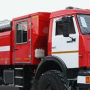 Автоцистерна пожарная АЦ 2,5-40 КамАЗ-4326 экипаж 7 чел., насос в заднем отсеке фото