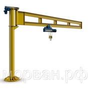 Кран консольный колонный переставной 250 кг стрела 2,5 м высота 2,5 м