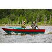 Новые пластиковые мотолодки FINNSPORT 400 рыбак фото