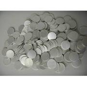 Заготовка для чеканка монет, алюминий, d=25х3 мм. фотография