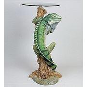 """ALf 09138 статуэтка""""хамелеон""""+ стекло (46*100*44*46) (781563) фото"""
