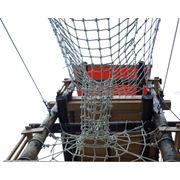 Сетка заградительная яч. 40*40 фото