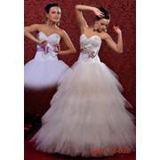 Платья свадебные оптом модель 12-032 фото