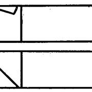 РЕЗЦЫ ТОКАРНЫЕ ФАСОЧНЫЕ (ТИП 2) ИЗ БЫСТРОРЕЖУЩЕЙ СТАЛИ ГОСТ 18875-73 фото