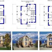Готовые проекты домов фото