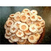 Печенье с кремом фото