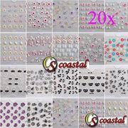 Набор из 20 3 D форм для дизайна ногтей фото