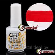 Цветной УФ гель-лак для дизайна ногтей (нейтральный, красный, белый) фото