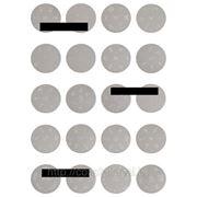 Набор из 20 дисков - трафаретов для дизайна ногтей, для стемпинга