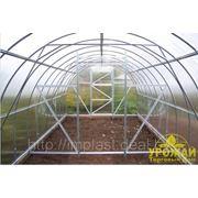 Теплица Урожай ПК 3х6 + сотовый поликарбонат. фото
