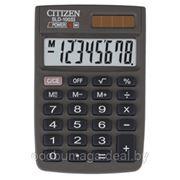 Калькулятор карманный 8р CITIZEN SLD-100N