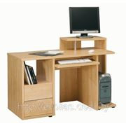 Стол офисный TRIO С 2 выдвижнымм ящиками и подиумом для монитора фото
