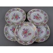 Тарелки из фарфора фото