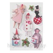"3D-стикеры ""Christmas Play"" (Тильда) фото"