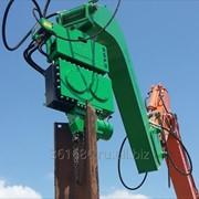 Вибропогружатель ESF 8B для экскаваторов 38-40 тонн. фото