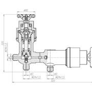 Клапан для манометров с герметизацией фото