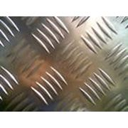 Лист алюминиевый рифленный фото