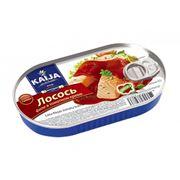 Лосось филе в томатном креме ТМ KAIJA 170г 1/40 с/к