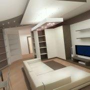 Дизайн квартир, кафе, магазинов и других помещений.