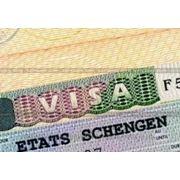 Шенген виза, многоразовая мульти фото