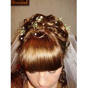 Свадебная прическа 14 фото