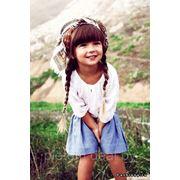 Модные прически для детей фото