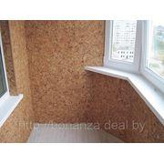 Внутренняя отделка балкона пластиковыми панелями, цена: 1200.