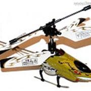 Вертолет Samewin Skylanneret 3-х канальный 15,5см ястреб-желтый фото