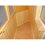 Отделка балконов фото
