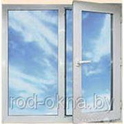 Окна ПВХ 1900*1600 пластиковое в детскую новой планировки фото