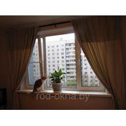 Окно ПВХ 1300*1700 пластиковое в спальню новой планировки фото