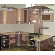 Кухня угловая с барной стойкой фото